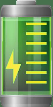 bateria de litio foto