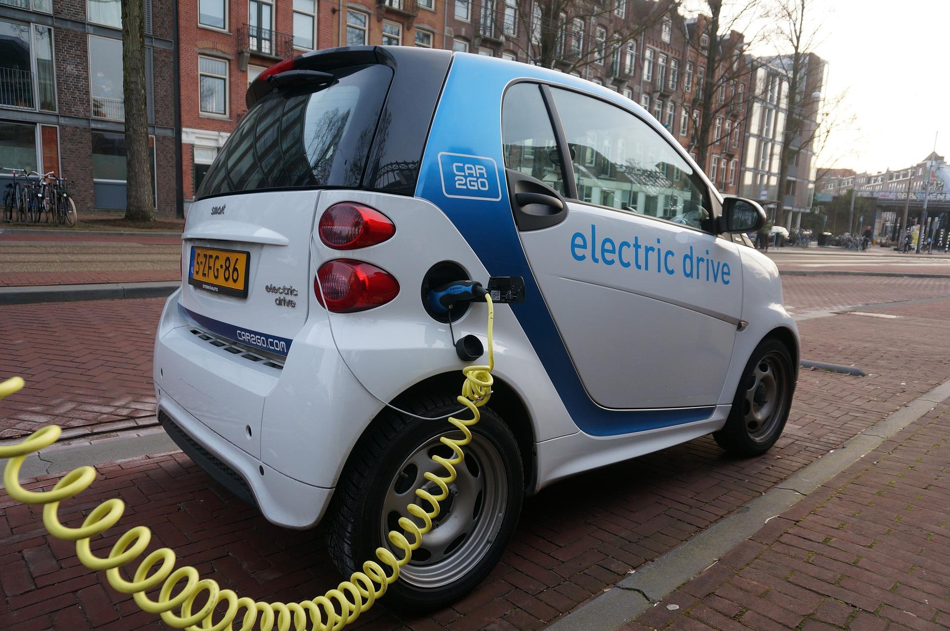 imagen electric car